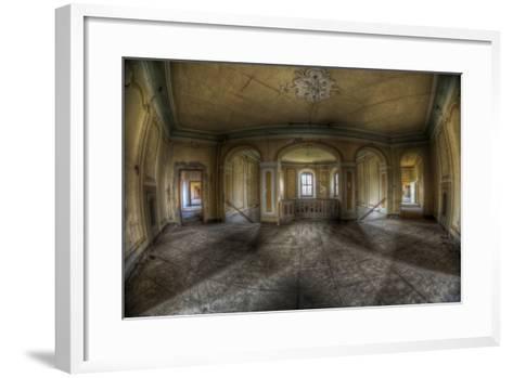 Abandoned Building Interior-Nathan Wright-Framed Art Print