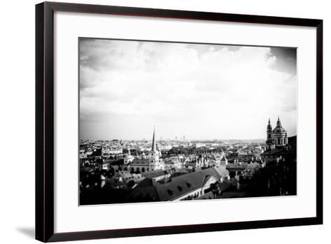 Prague City View-Rory Garforth-Framed Art Print