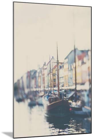 Danish Harbour-Laura Evans-Mounted Photographic Print