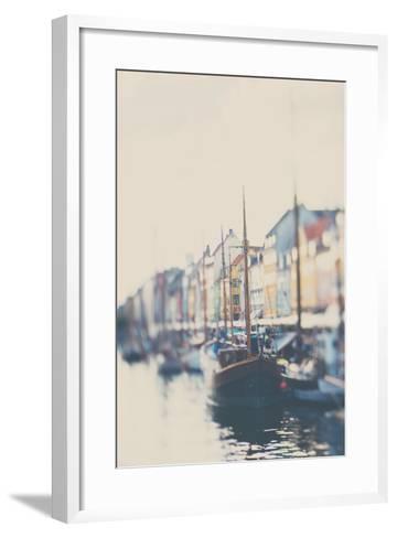 Danish Harbour-Laura Evans-Framed Art Print