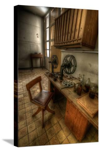Abandoned Interior-Nathan Wright-Stretched Canvas Print