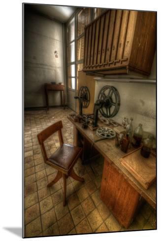 Abandoned Interior-Nathan Wright-Mounted Photographic Print