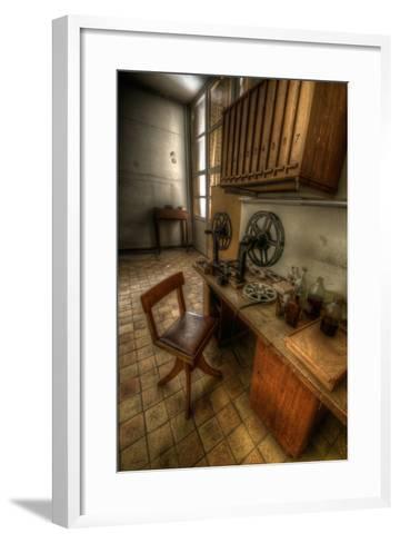 Abandoned Interior-Nathan Wright-Framed Art Print