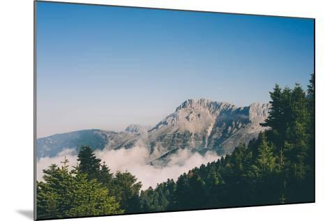 Mountains in Greece-Clive Nolan-Mounted Photographic Print