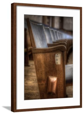 Theatre Seating-Nathan Wright-Framed Art Print