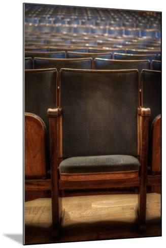 Theatre Seating-Nathan Wright-Mounted Photographic Print