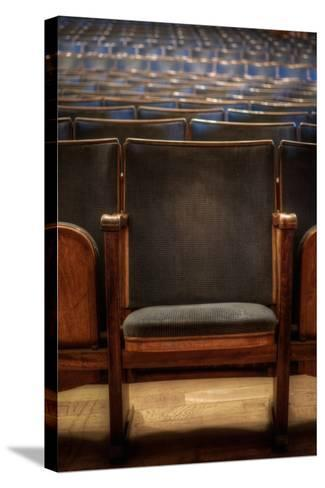Theatre Seating-Nathan Wright-Stretched Canvas Print