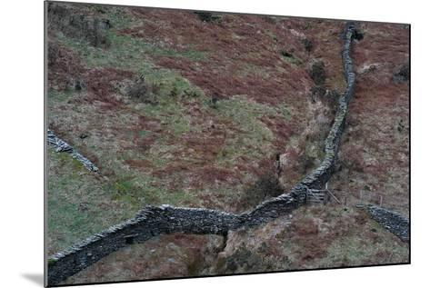 Wall in Remote Location in England-Clive Nolan-Mounted Photographic Print