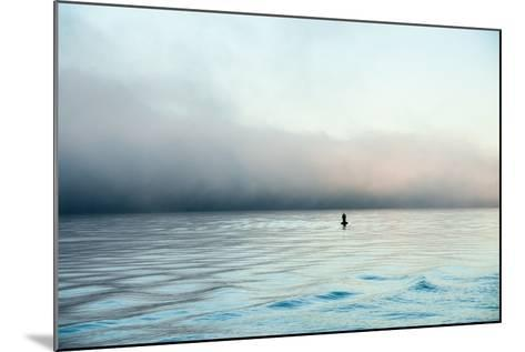 Figure in the Distance in Landscape-Sharon Wish-Mounted Photographic Print
