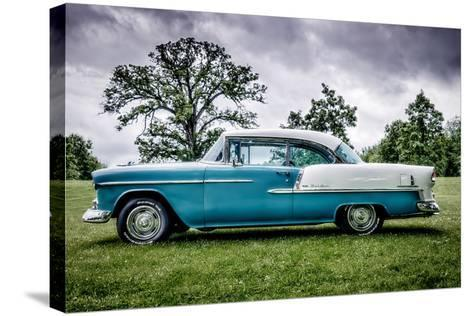 Bel Air Chevrolet-Stephen Arens-Stretched Canvas Print