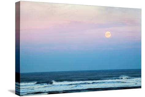 Coastal Waters-Mark Sunderland-Stretched Canvas Print