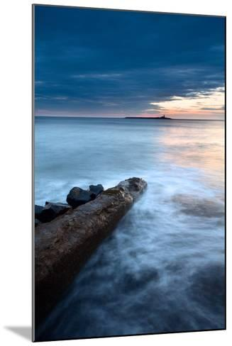 Coquet Island at Dawn-Mark Sunderland-Mounted Photographic Print