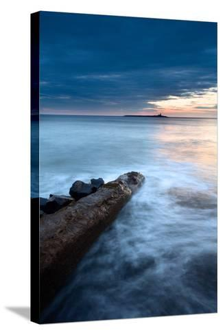 Coquet Island at Dawn-Mark Sunderland-Stretched Canvas Print