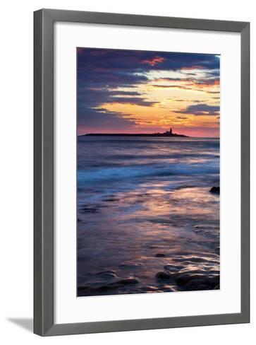 Coquet Island-Mark Sunderland-Framed Art Print