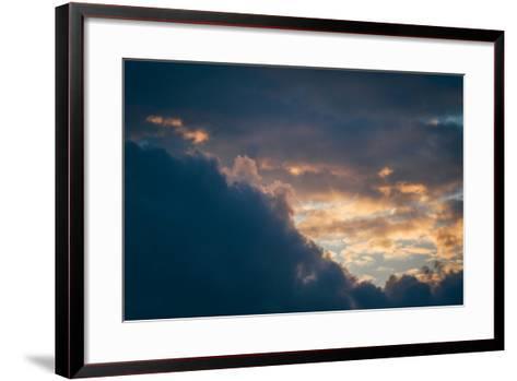 Stormy Sunset-Clive Nolan-Framed Art Print