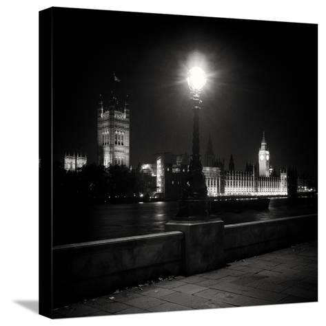Buildings in London-Craig Roberts-Stretched Canvas Print