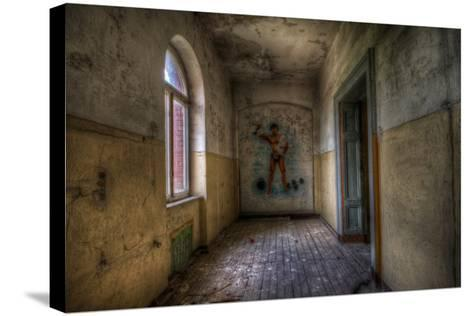 Derelict Room-Nathan Wright-Stretched Canvas Print