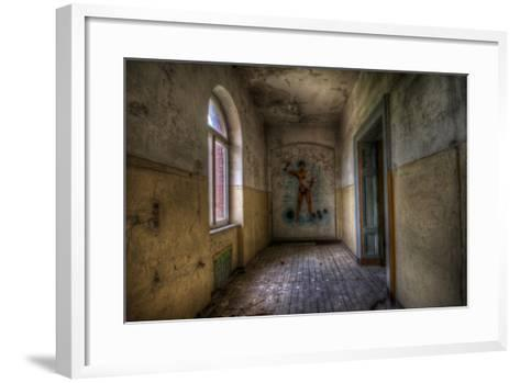Derelict Room-Nathan Wright-Framed Art Print