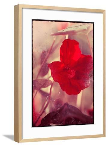 Red Flowers-Mia Friedrich-Framed Art Print