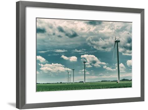 Wind Turbines-Stephen Arens-Framed Art Print