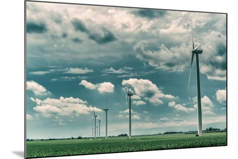Wind Turbines-Stephen Arens-Mounted Photographic Print