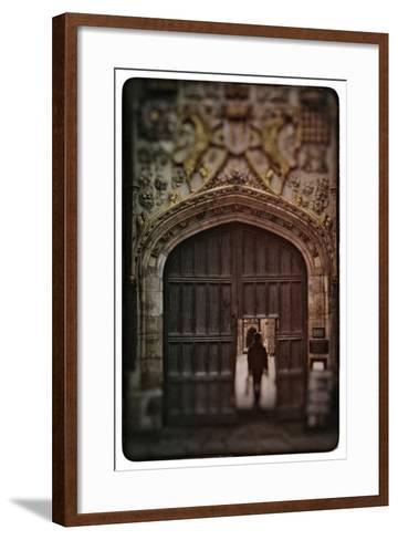 Cambridge University-Tim Kahane-Framed Art Print