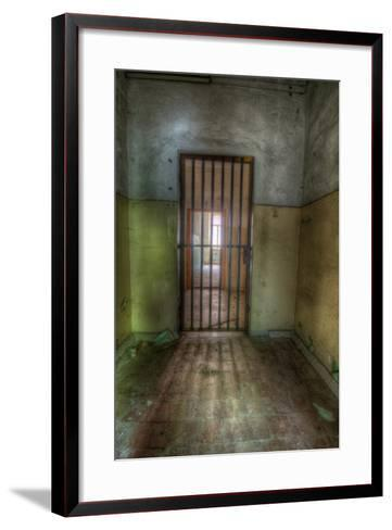 Cell with Metal Door-Nathan Wright-Framed Art Print