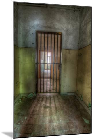 Cell with Metal Door-Nathan Wright-Mounted Photographic Print