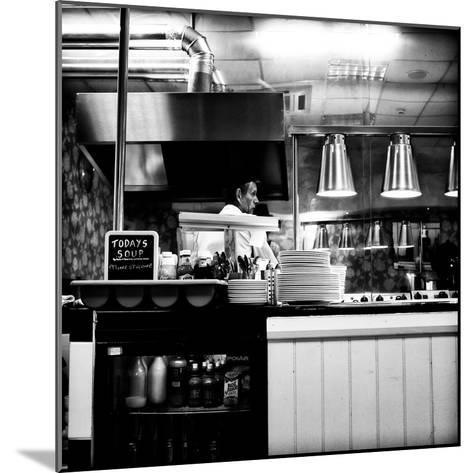Chef in Restaurant-Rory Garforth-Mounted Photographic Print