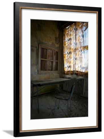 Abandoned Power Station-Nathan Wright-Framed Art Print