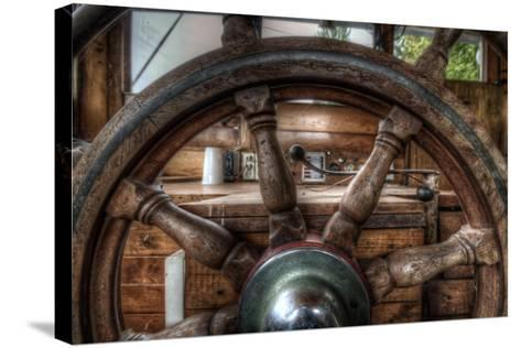 Old Barge-Nathan Wright-Stretched Canvas Print