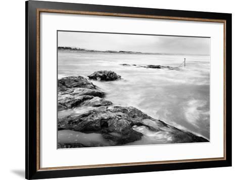 Sea and Rocks-Mark Sunderland-Framed Art Print