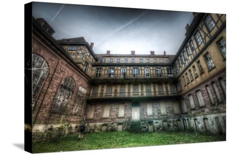 Abandoned Building Interior-Nathan Wright-Stretched Canvas Print