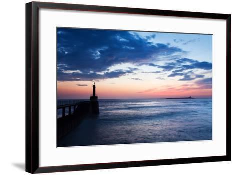 Harbour Light-Mark Sunderland-Framed Art Print