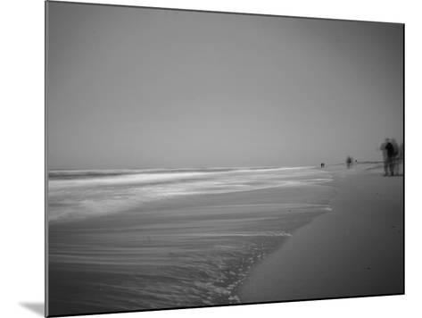 Golden Beach Landscape-Jan Lakey-Mounted Photographic Print