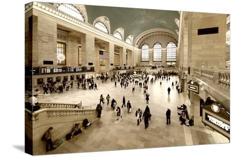 Grand Central Station - 42nd Street - Manhattan - New York City - United States-Philippe Hugonnard-Stretched Canvas Print