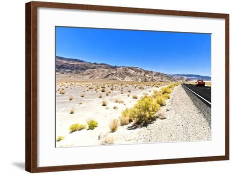 Road view - Death Valley National Park - California - USA - North America-Philippe Hugonnard-Framed Art Print