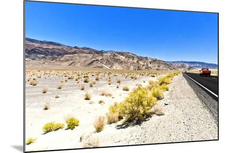 Road view - Death Valley National Park - California - USA - North America-Philippe Hugonnard-Mounted Photographic Print