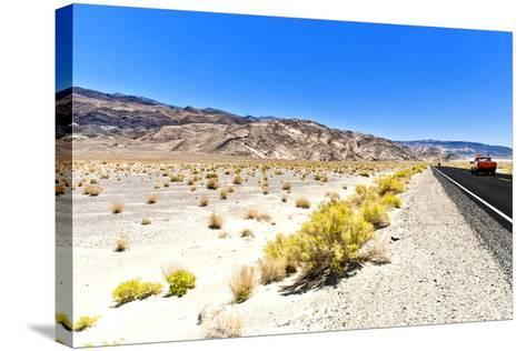 Road view - Death Valley National Park - California - USA - North America-Philippe Hugonnard-Stretched Canvas Print