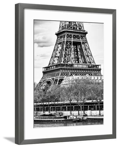 Detail of Eiffel Tower - Paris - France-Philippe Hugonnard-Framed Art Print