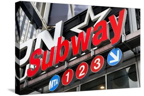 Subway Stations - Manhattan - New York City - United States-Philippe Hugonnard-Stretched Canvas Print