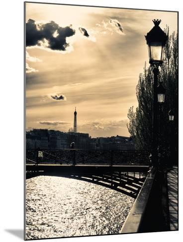 Sunset - Pont des Arts - Paris - France-Philippe Hugonnard-Mounted Photographic Print