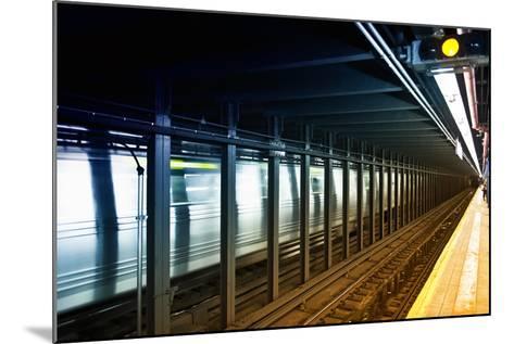Subway Stations - Manhattan - New York City - United States-Philippe Hugonnard-Mounted Photographic Print