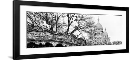 Carousel 18th century - Sacr?-C?ur Basilica - Montmartre - Paris - France-Philippe Hugonnard-Framed Art Print