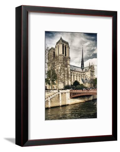 Notre Dame Cathedral - Paris - France-Philippe Hugonnard-Framed Art Print