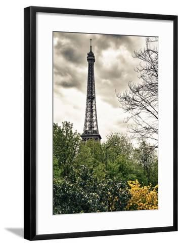 The Eiffel Tower - Paris - France-Philippe Hugonnard-Framed Art Print