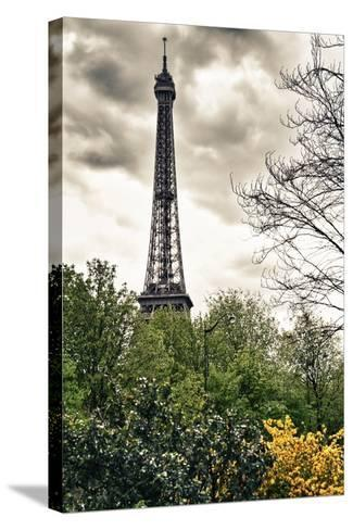 The Eiffel Tower - Paris - France-Philippe Hugonnard-Stretched Canvas Print