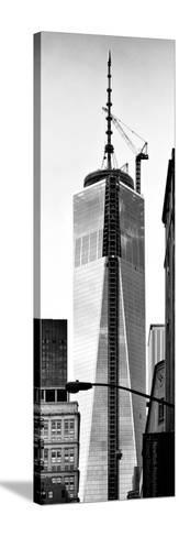One World Trade Center (1WTC), Manhattan, New York, Vertical Panoramic View-Philippe Hugonnard-Stretched Canvas Print