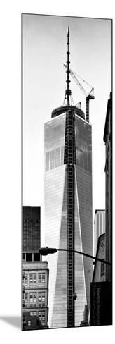 One World Trade Center (1WTC), Manhattan, New York, Vertical Panoramic View-Philippe Hugonnard-Mounted Photographic Print