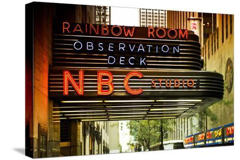 Nbc studios - Manhattan - New York City - United States-Philippe Hugonnard-Stretched Canvas Print